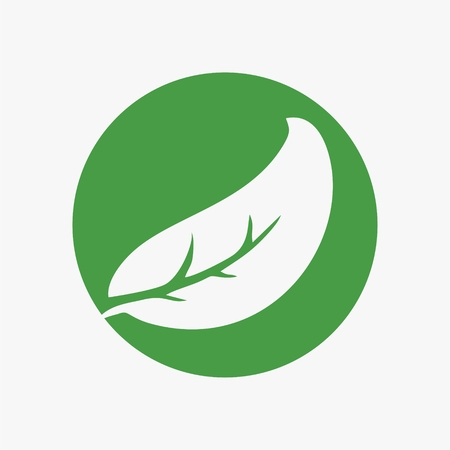 Leaf,plant,logo,ecology,people,wellness,green,leaves,nature symbol icon set of vector designs. Health Logo and vector Template for business. Иллюстрация