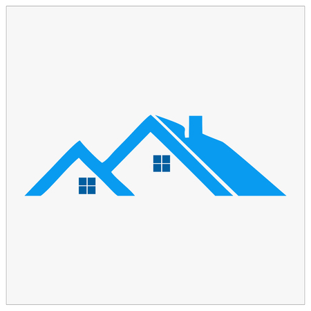 Building, real estate, home and construction icon and vector design. Real estate icon template design for business.