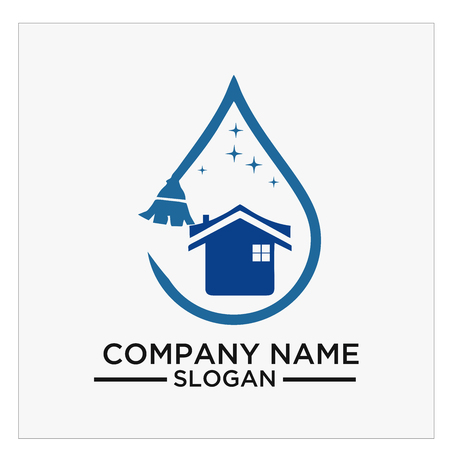 Logo, icon and vector for Cleaning And Maintenance Illustration