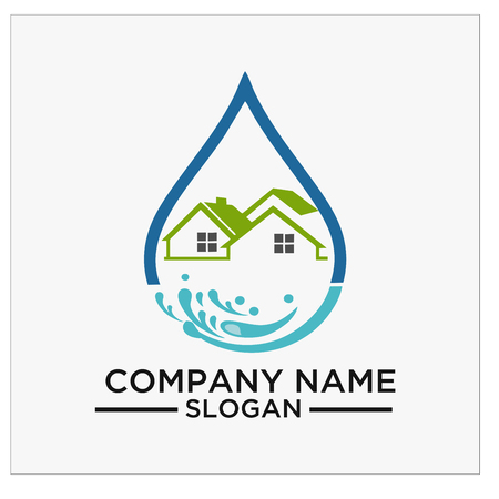 Logo, icon and vector for Cleaning And Maintenance 向量圖像