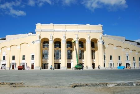 rearrangement: Reconstruction of Central Stadium, Ekaterinburg   Editorial
