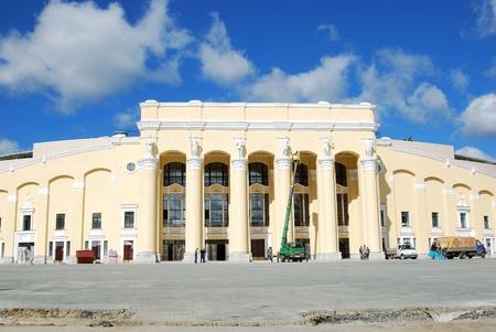 megapolis: Reconstruction of Central Stadium, Ekaterinburg   Editorial