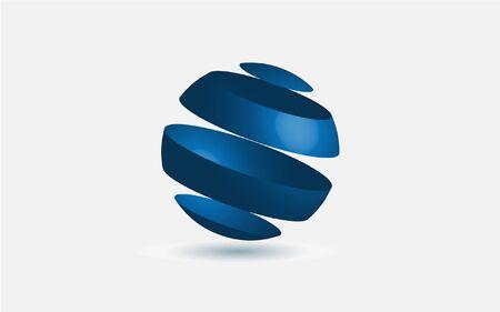 blue ball: Blue Sphere Vector