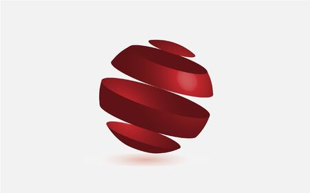 red sphere: Red Sphere Vector