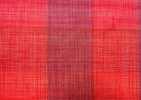 tela algodon: tela de algodón de color rojo para la ropa de costura