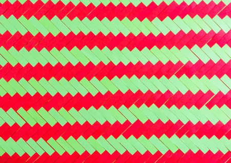 horizontal line: Red and yellow horizontal line on paper