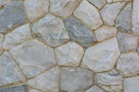 wall decor: Stone was decor on a wall