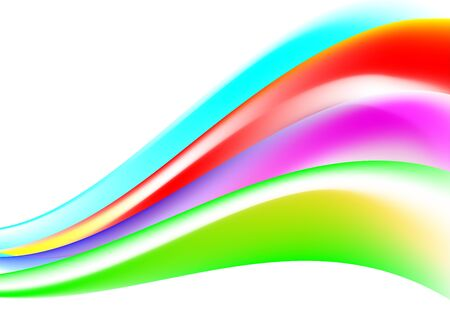 Abstract line and color shape background. Vector EPS10 Illustration