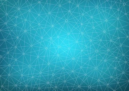 Struktura połączenia. Geometryczne streszczenie tle. Medycyna, nauka i technologia. Ilustracji wektorowych dla projektu Ilustracje wektorowe