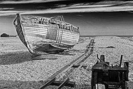 desolate: Desolate Track Stock Photo