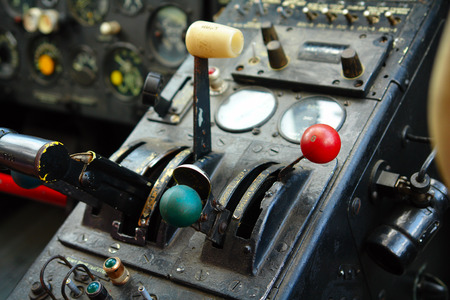 avionics: Inside the cockpit of the old plane
