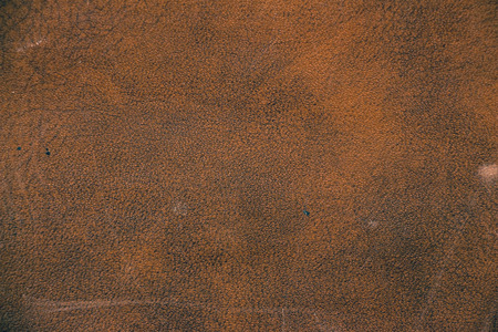 Texture of brown artificial leather. Imitation leather, Leatherette Stock Photo