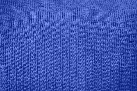 Blue velvet texture background. Blue velvet fabric