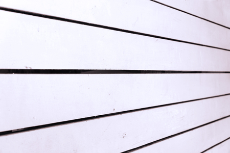 Background of white painted wooden boards for your design. Perspective view