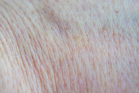 The texture of the human skin men
