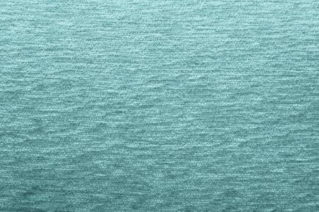 Trama di rivestimento in lana verde per sfondo e design Archivio Fotografico