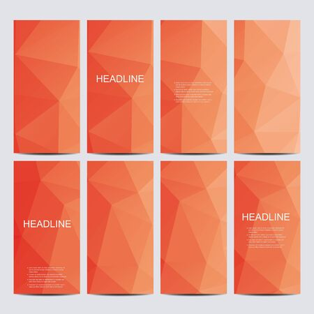 ttemplate: Modern business stylish design. Abstract geometric background with triangles.