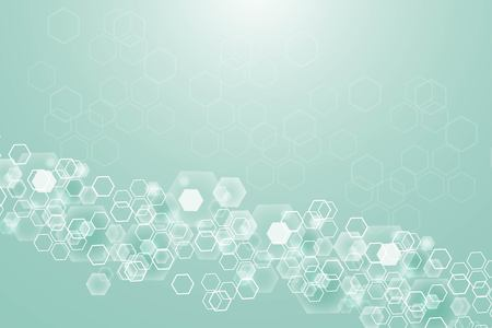 Big Data Visualization Background. Modern futuristic virtual abstract background. Science network pattern, connecting lines and dots. Global network connection vector
