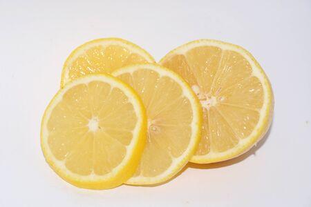 vitamine: lemon sliced