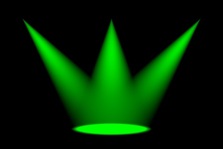 Abstract dark background with bright colorful stage spotlights Stock Photo - 13442331