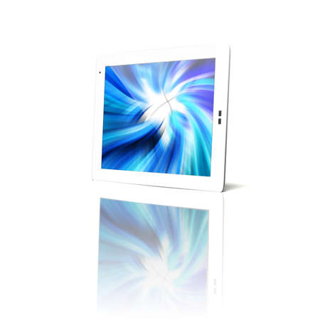 Tablet pc isolated Stock Photo - 9219585