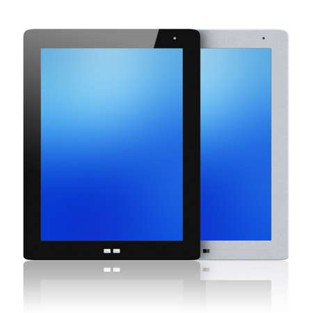 Tablet pc isolated photo