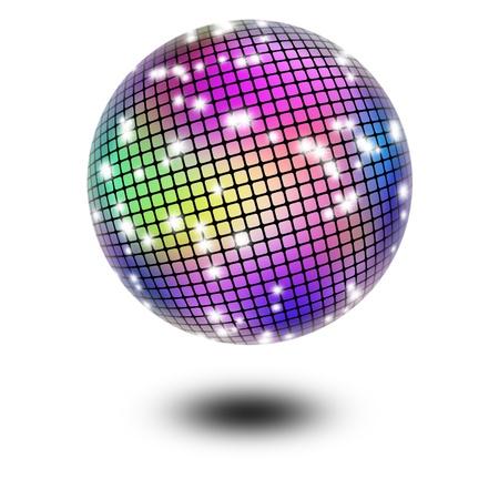 extravagant: Disco ball Stock Photo