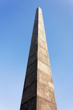 the obelisk: Obelisk Stock Photo