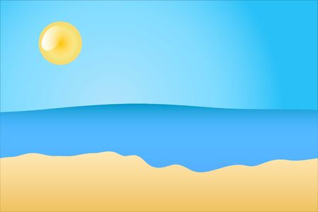 Summer beach Stock Vector - 18181413