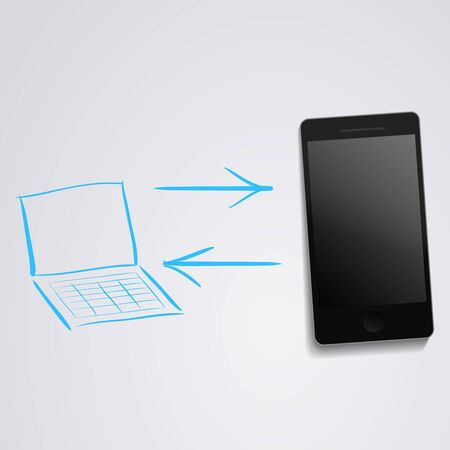 sincronizacion: tel�fono sincronizaci�n con un ordenador