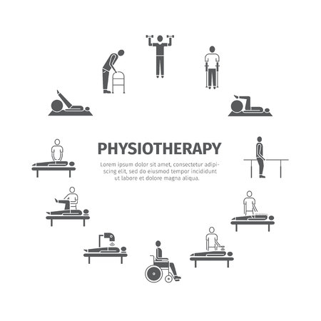 Physiotherapy, rehabilitation center.