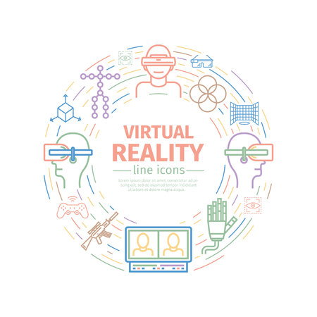 Devices for virtual reality (VR)