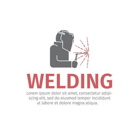 Welding line icon Vector sign.