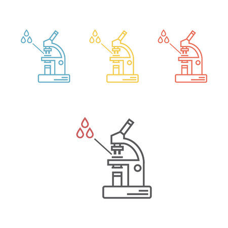 Blood test Vector icon for web graphic.