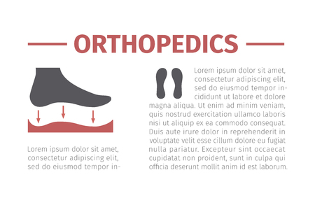 Orthopedic insoles icon isolated on white background. Vector signs for web graphics. Иллюстрация