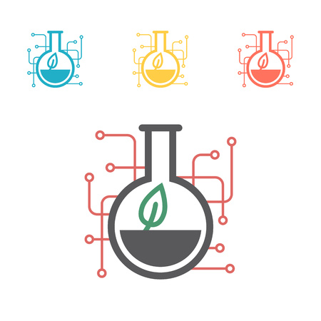 GMO base icon. Simple sign illustration. GMO symbol design. Can be used for web, print and mobile