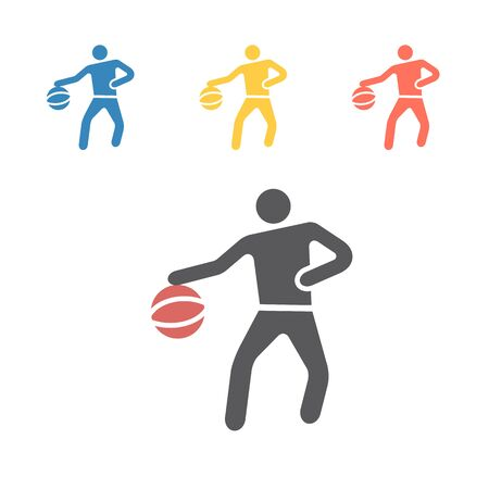 basketball icon icon. Vector signs for web graphics.