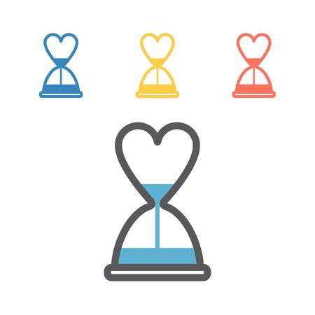 Menopause line icon. Vector signs for web graphics Illustration