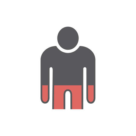 Anemia icon. Vector sign for web graphic. 矢量图像