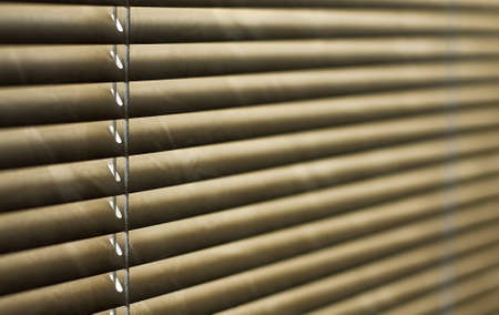 horizontal blind in brown, for abstract background