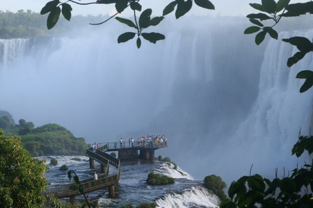 Iguazu Falls is one of the most imposing natural attractions in Argentina