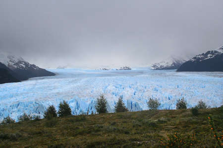 the Perito Moreno glacier is one of the major tourist destinations in southern Patagonia photo