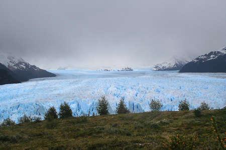 the Perito Moreno glacier is one of the major tourist destinations in southern Patagonia Stock Photo - 12743347