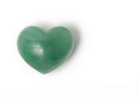 a chakra stone with heart shape Stock Photo - 12742951