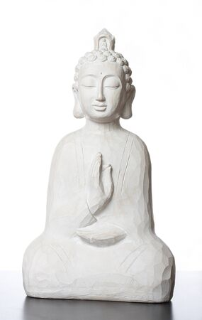 buda: budha sculpture, for meditation and religious concepts
