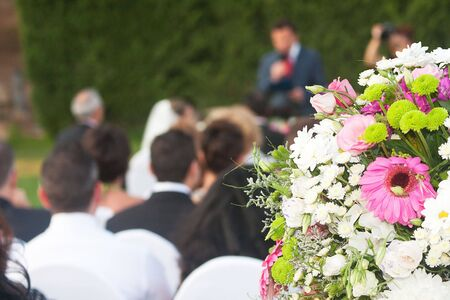 conceptual picture about weddings and relationships Stock Photo - 18339289