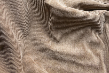 abstract view of a jacket made of corduroy