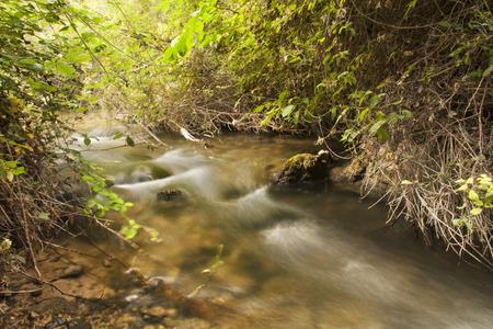 nerpio river blurred, long exposure