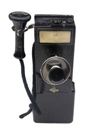 wall telephone used in 1920 Standard-Bild