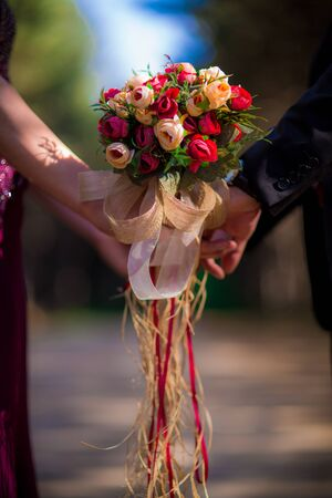 Bridal Flower, Brida and Groom, Marriage